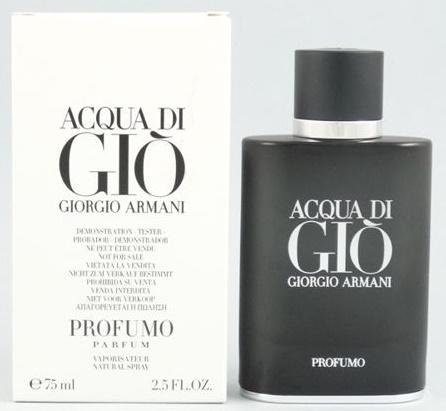 Giorgio Armani Acqua di Gio Profumo, Parfémovaná voda - Tester, 75ml, Pánska vôňa, + AKCE: dárek zdarma