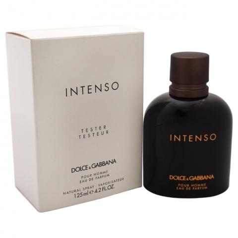 Dolce & Gabbana Intenso Pour Homme, Parfémovaná voda - Tester, 125ml, Pánska vôňa, + AKCE: dárek zdarma