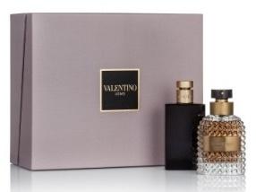 Valentino Valentino Uomo, Dárková sada, toaletní voda 100ml + balsám po holení 100ml, Pánska vôňa, + AKCE: dárek zdarma