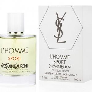 Yves Saint Laurent L´Homme Sport, Toaletní voda - Tester, 100ml, Pánska vôňa, + AKCE: dárek zdarma