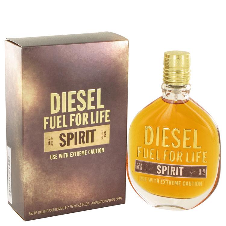 Diesel Fuel For Life Spirit, Toaletní voda, 75ml, Pánska vôňa, + AKCE: dárek zdarma