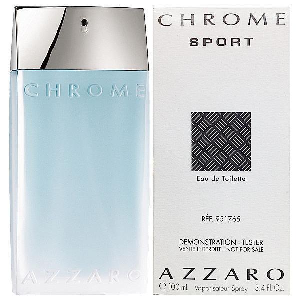 Azzaro Chrome Sport, Toaletní voda - Tester, 100ml, Pánska vôňa, + AKCE: dárek zdarma