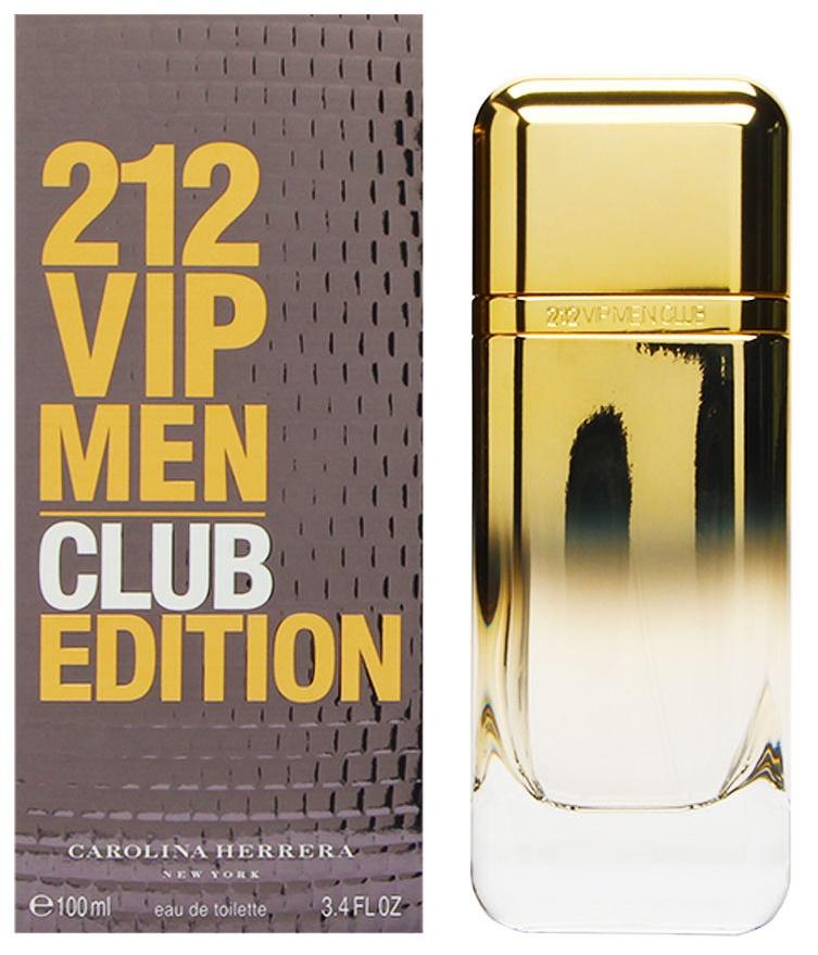 Carolina Herrera 212 VIP Men Club Edition, Toaletní voda, 100ml, Pánska vôňa, + AKCE: dárek zdarma