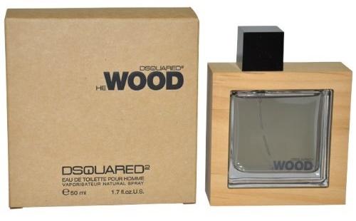 Dsquared2 He Wood, Toaletní voda, 50ml, Pánska vôňa, + AKCE: dárek zdarma