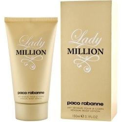 Paco Rabanne Lady Million, Tělové mléko, 150ml, Dámska vôňa, + AKCE: dárek zdarma