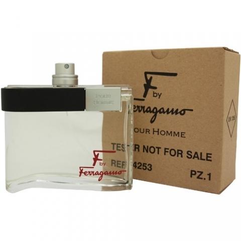 Salvatore Ferragamo F by Ferragamo pour Homme, Toaletní voda - Tester, 100ml, Pánska vôňa, + AKCE: dárek zdarma
