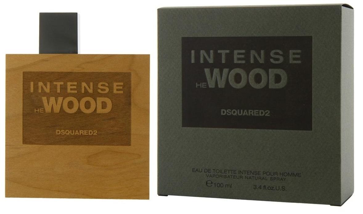 Dsquared2 He Wood Intense, Toaletní voda, 100ml, Pánska vôňa, + AKCE: dárek zdarma