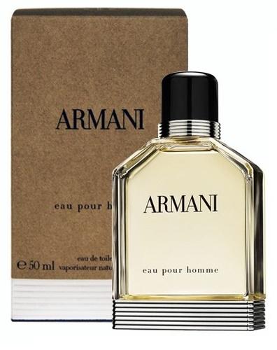 Giorgio Armani Armani Eau Pour Homme, Toaletní voda, 50ml, Pánska vôňa, + AKCE: dárek zdarma