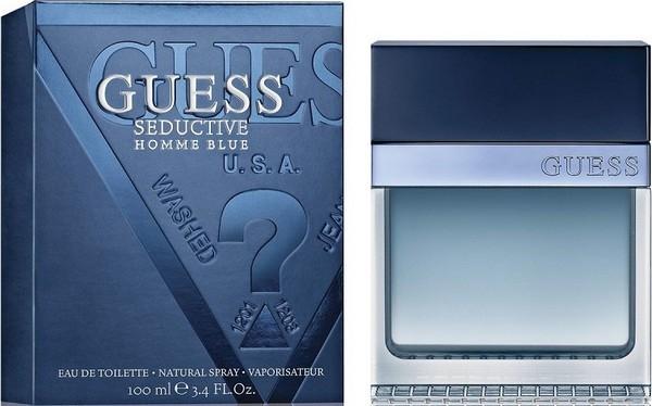 Guess Seductive Blue Homme, Toaletní voda, 100ml, + AKCE: dárek zdarma