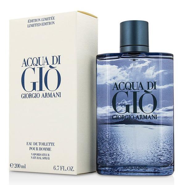 Giorgio Armani Acqua di Gio Blue Edition pour Homme, Toaletní voda, 200ml, Pánska vôňa, + AKCE: dárek zdarma