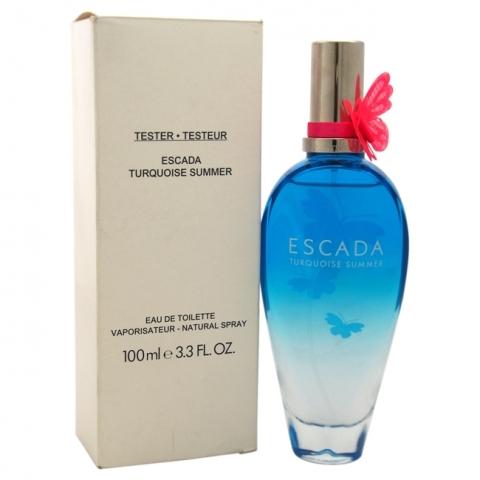Escada Turquoise Summer, Toaletní voda - Tester, 100ml, Dámska vôňa, + AKCE: dárek zdarma