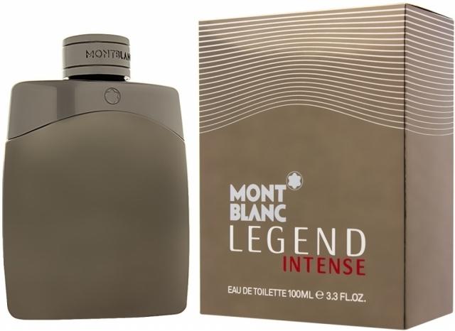 Mont Blanc Legend Intensé, Toaletní voda, 100ml, Pánska vôňa, + AKCE: dárek zdarma