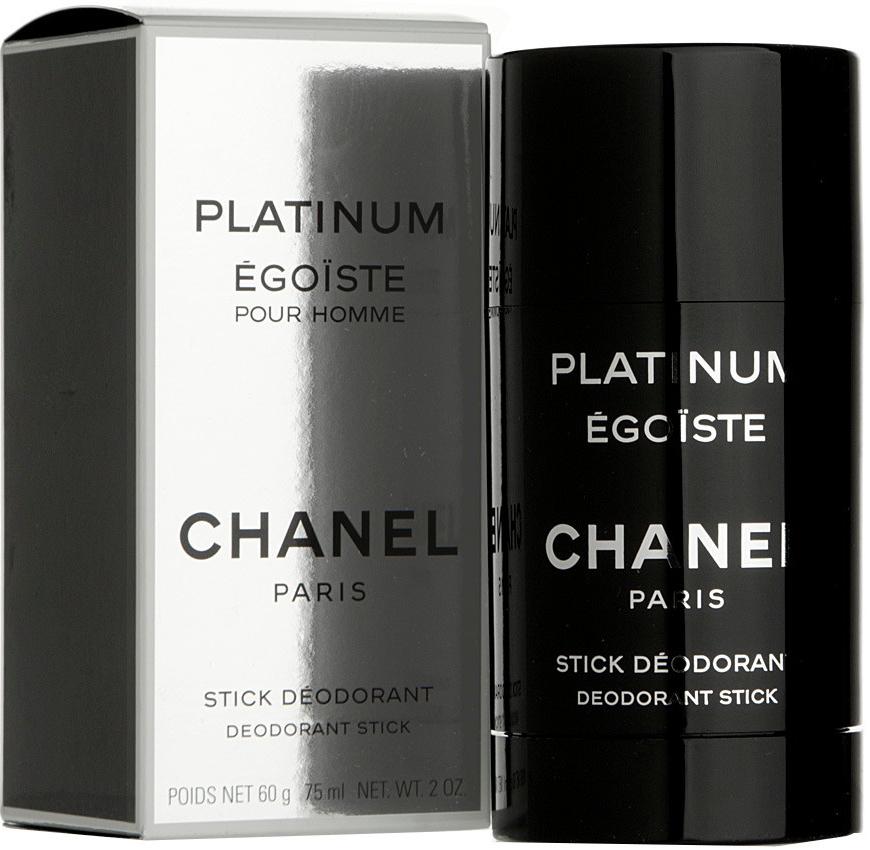 Chanel Egoiste Platinum, Deostick, 75ml, Pánska vôňa, + AKCE: dárek zdarma