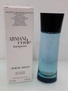 Giorgio Armani Code Turquoise for Men, Toaletní voda - Tester, 75ml, Pánska vôňa, + AKCE: dárek zdarma