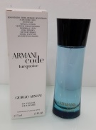 Giorgio Armani Code Turquoise Eau Fraiche Pour Homme, Toaletní voda - Tester, 75ml, Pánska vôňa, + AKCE: dárek zdarma