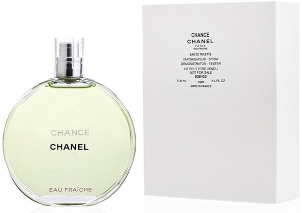 Chanel Chance Eau Fraiche, Toaletní voda - Tester, 100ml, Dámska vôňa, + AKCE: dárek zdarma