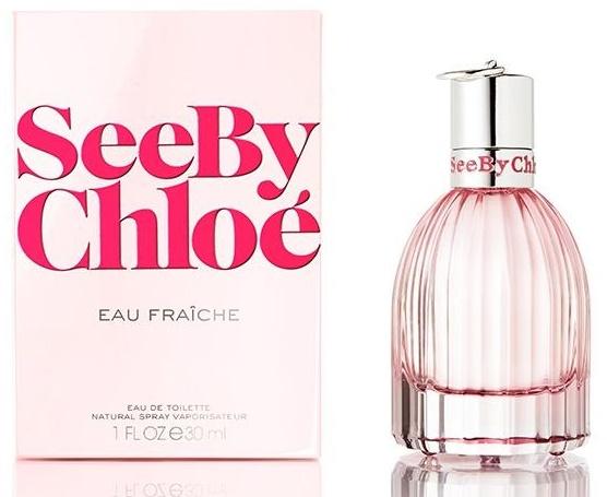 Chloe See By Chloé Eau Fraiche, Toaletní voda, 30ml, Dámska vôňa, + AKCE: dárek zdarma