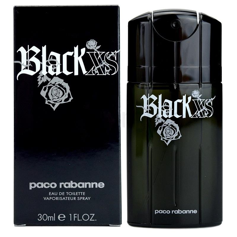 Paco Rabanne Black XS, Toaletní voda, 30ml, Pánska vôňa, + AKCE: dárek zdarma