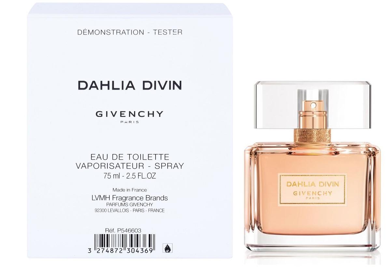 Givenchy Dahlia Divin, Toaletní voda - Tester, 75ml, Dámska vôňa, + AKCE: dárek zdarma