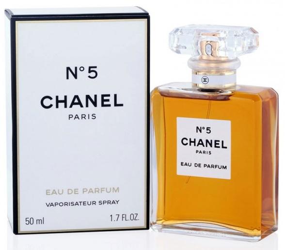 Chanel No.5, Parfémovaná voda, 50ml, Dámska vůně, + AKCE: dárek zdarma