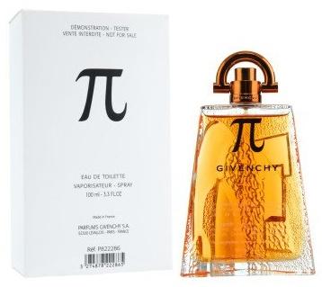 Givenchy Pí, Toaletní voda - Tester, 100ml, Pánska vôňa, + AKCE: dárek zdarma