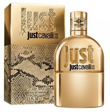 Roberto Cavalli Just Cavalli Gold for Her, Parfémovaná voda, 75ml, Dámska vôňa, + AKCE: dárek zdarma