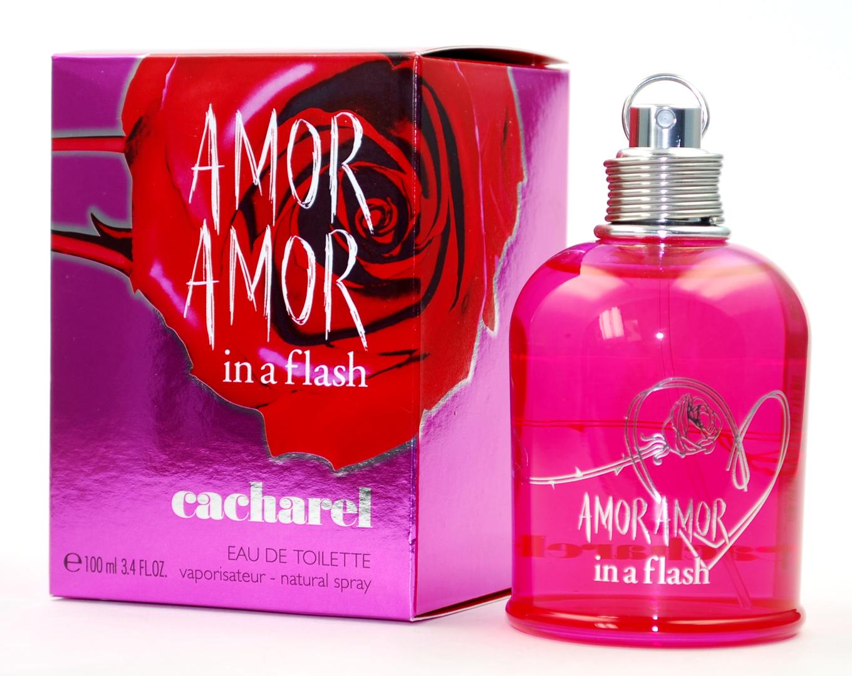 Cacharel Amor Amor In a Flash, Toaletní voda, 100ml, Dámska vôňa, + AKCE: dárek zdarma
