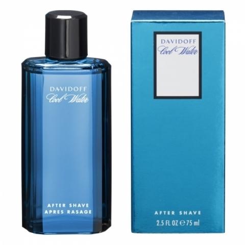 Davidoff Cool Water Man, Voda po holení, 75ml, Pánska vôňa, + AKCE: dárek zdarma
