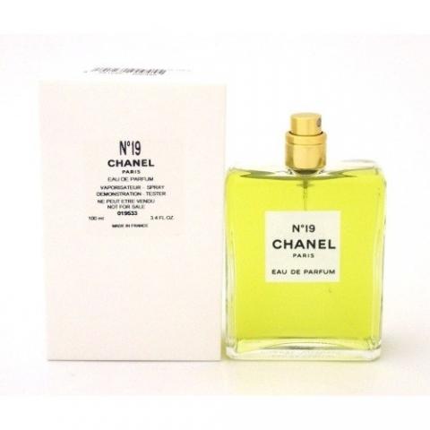 Chanel No.19, Parfémovaná voda - Tester, 100ml, Dámska vôňa, + AKCE: dárek zdarma