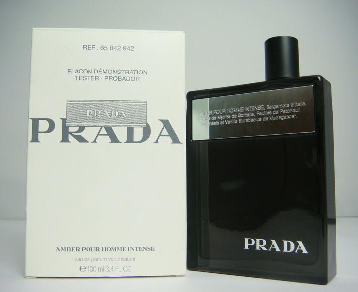 Prada Amber Pour Homme Intense, Parfémovaná voda - Tester, 100ml, Pánska vôňa, + AKCE: dárek zdarma