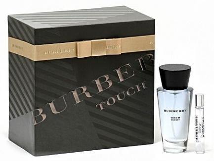 Burberry Touch for Men, Dárková sada, toaletní voda 100ml + toaletní voda 7.5ml, Pánska vôňa, + AKCE: dárek zdarma