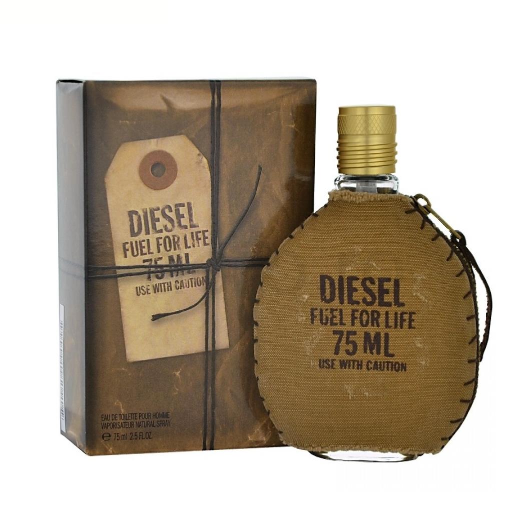 Diesel Fuel For Life Homme, Toaletní voda, 75ml, Pánska vôňa, + AKCE: dárek zdarma