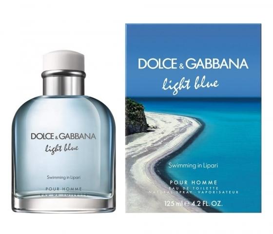 Dolce & Gabbana Light Blue Swimming in Lipari, Toaletní voda, 125ml, Pánska vôňa, + AKCE: dárek zdarma