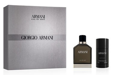 Giorgio Armani Eau De Nuit, Dárková sada, toaletní voda 100ml + deostick 75ml, Pánska vôňa, + AKCE: dárek zdarma