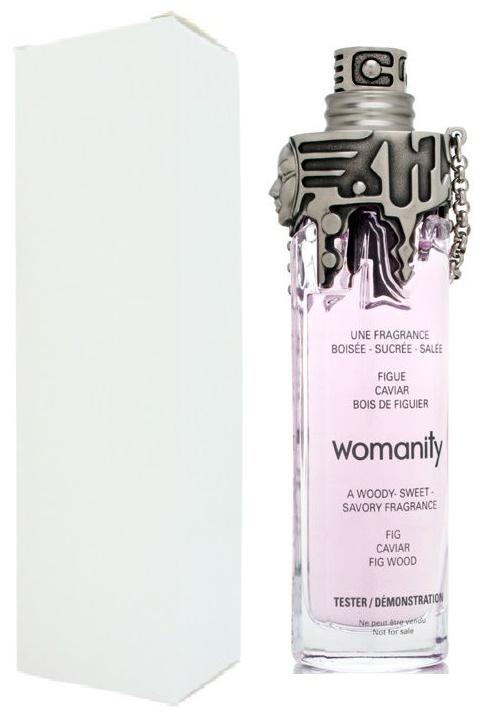 Thierry Mugler Womanity, Parfémovaná voda - Tester, 80ml, Dámska vôňa