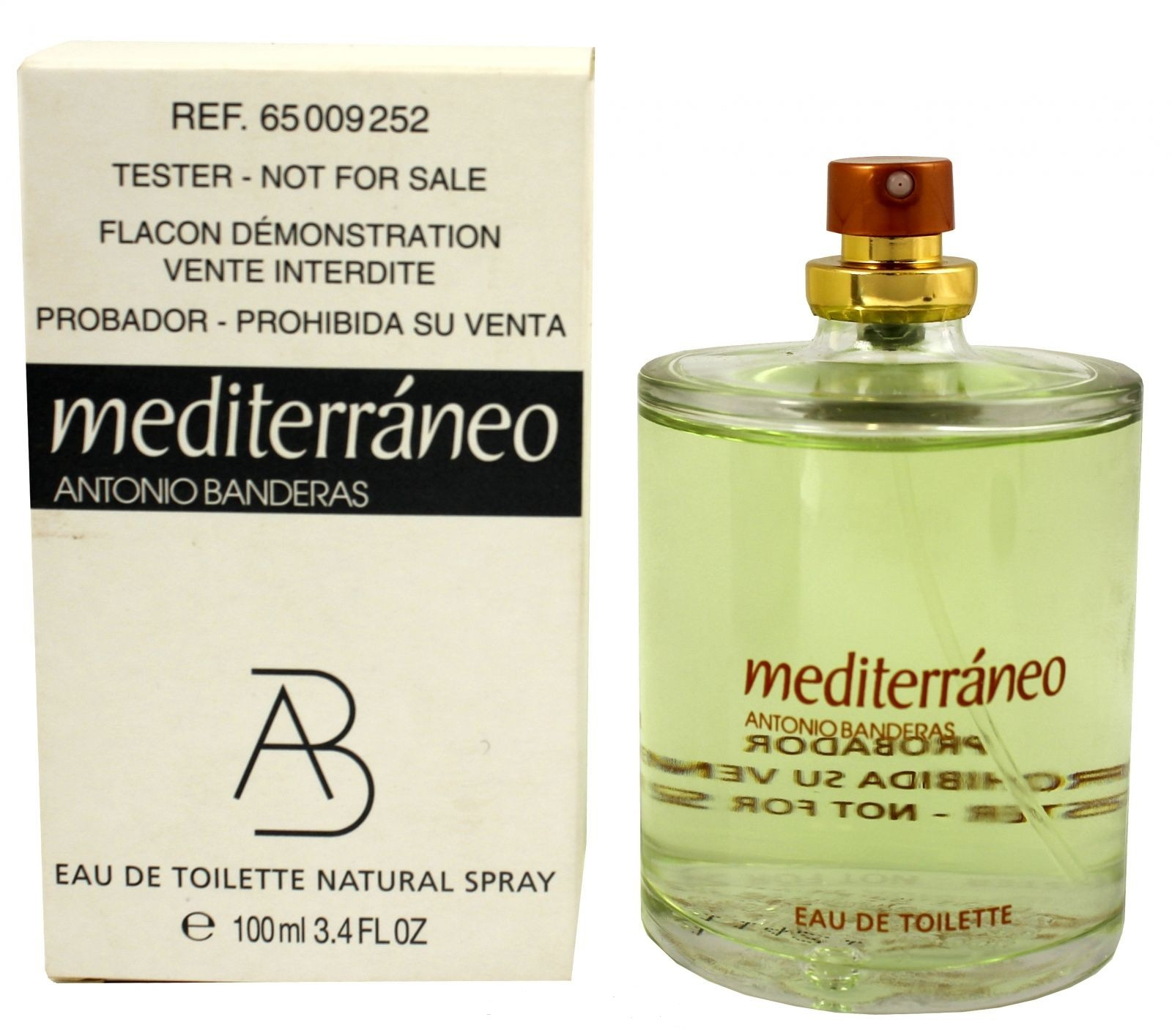 Antonio Banderas Mediterraneo for Man, Toaletní voda - Tester, 100ml, Pánska vôňa, + AKCE: dárek zdarma