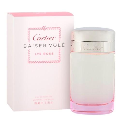 Cartier Baiser Vole Lys Rose, Toaletní voda, 100ml, Dámska vôňa, + AKCE: dárek zdarma