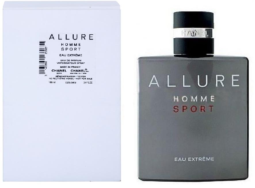 Chanel Allure Homme Sport Eau Extreme, Parfémovaná voda - Tester, 100ml, Pánska vôňa, + AKCE: dárek zdarma