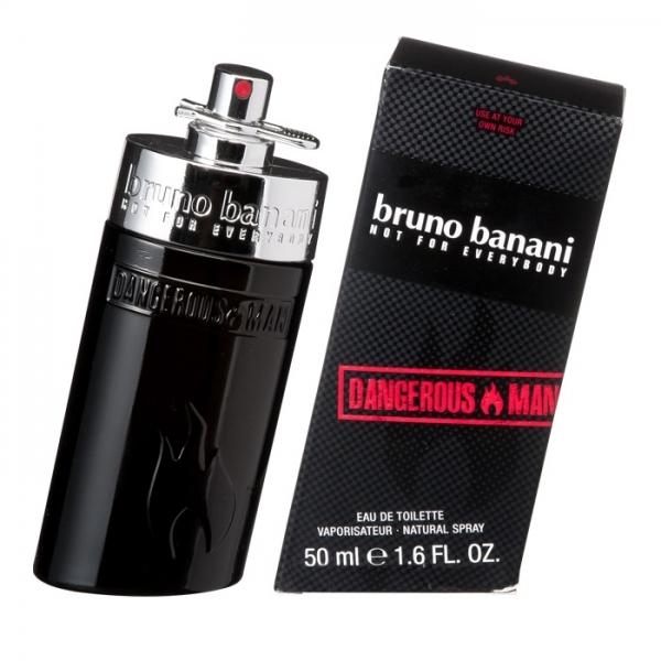Bruno Banani Dangerous Man, Toaletní voda, 50ml, Pánska vôňa, + AKCE: dárek zdarma