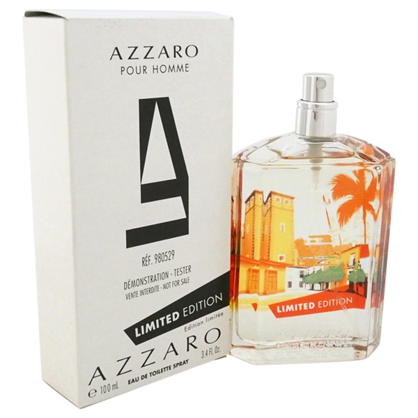 Azzaro Pour Homme Limited Edition, Toaletní voda - Tester, 100ml, Pánska vôňa, + AKCE: dárek zdarma