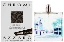 Azzaro Chrome Limited Edition 2014, Toaletní voda - Tester, 100ml, Pánska vôňa, + AKCE: dárek zdarma