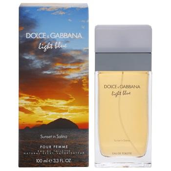 Dolce & Gabbana Light Blue Sunset in Salina, Toaletní voda, 100ml, Dámska vôňa, + AKCE: dárek zdarma