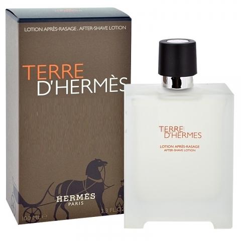 Hermes Terre D´Hermes, Voda po holení, 100ml, Pánska vôňa, + AKCE: dárek zdarma