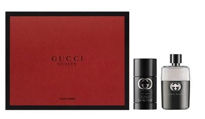 Gucci Guilty pour homme, Dárková sada, toaletní voda 50ml+ deostick 75ml, Pánska vôňa, + AKCE: dárek zdarma