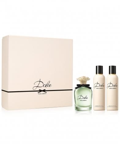 Dolce & Gabbana Dolce, Dárková sada, parfémovaná voda 75ml + telové mlieko 100ml + sprchový gel 100ml , Dámska vôňa, + AKCE: dárek zdarma