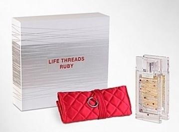 La Prairie Life Threads Ruby, Dárková sada, parfémovaná voda 50ml + jewelry roll, Dámska vôňa, + AKCE: dárek zdarma