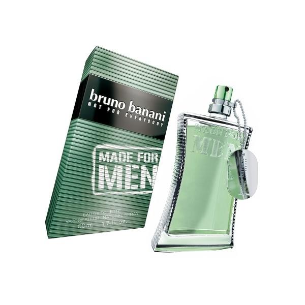 Bruno Banani Made for Men, Toaletní voda, 50ml, Pánska vôňa, + AKCE: dárek zdarma