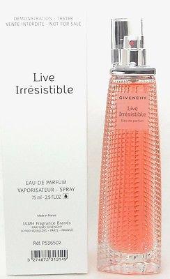 Givenchy Live Irresistible, Parfémovaná voda - Tester, 75ml, Dámska vôňa, + AKCE: dárek zdarma