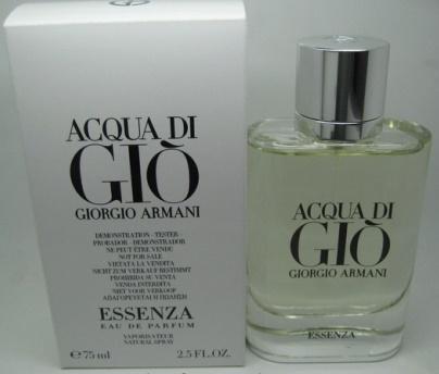 Giorgio Armani Acqua Di Gio Essenza, Parfémovaná voda - Tester, 75ml, Pánska vôňa, + AKCE: dárek zdarma
