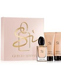 Giorgio Armani Si, Dárková sada, parfémovaná voda 100ml + tělové mléko 75ml + sprchový gel 75ml, Dámska vôňa, + AKCE: dárek zdarma